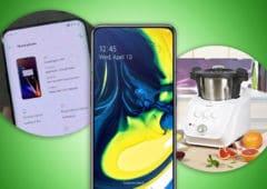 oneplus 7 pro samsung galaxy A80 lidl monsieur cuisine connect