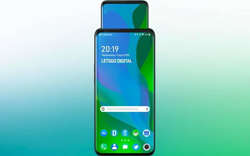Oppo brevet smartphone inception