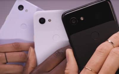 Le design des Pixel 3a