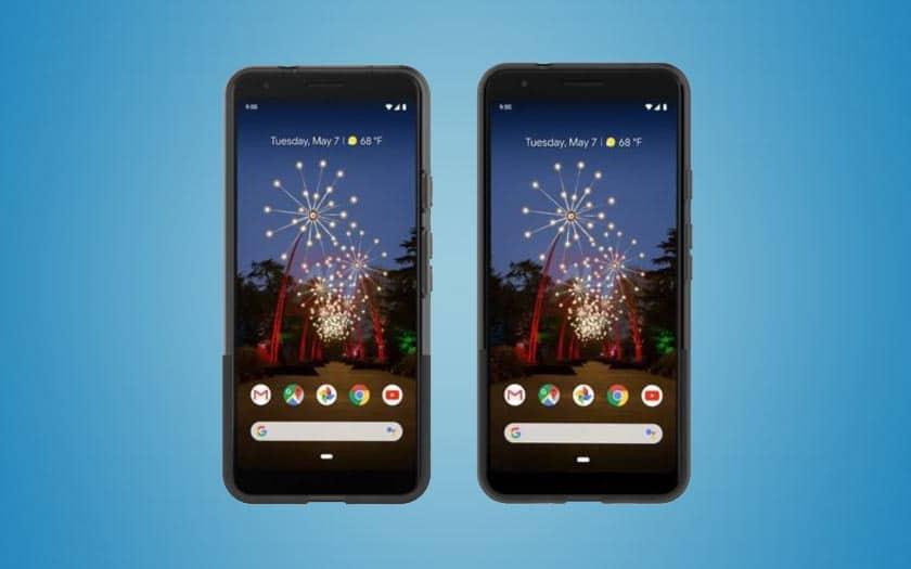 Pixel 3a et 3a XL : voici les premiers visuels officiels, et ça ne donne pas envie