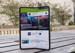 prise en main galaxy fold pliable