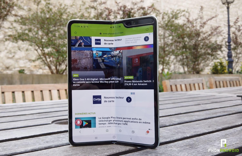 Prise en main du Galaxy Fold de Samsung : dites bonjour au smartphone du futur