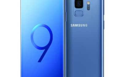 Galaxy S9 bleu