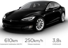 tesla model S nouveau moteur