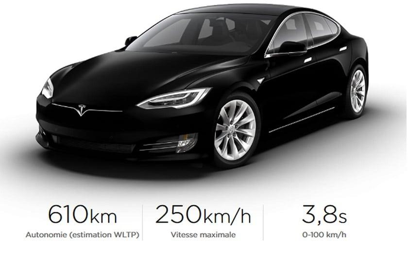 Tesla Model S et X avec un nouveau moteur