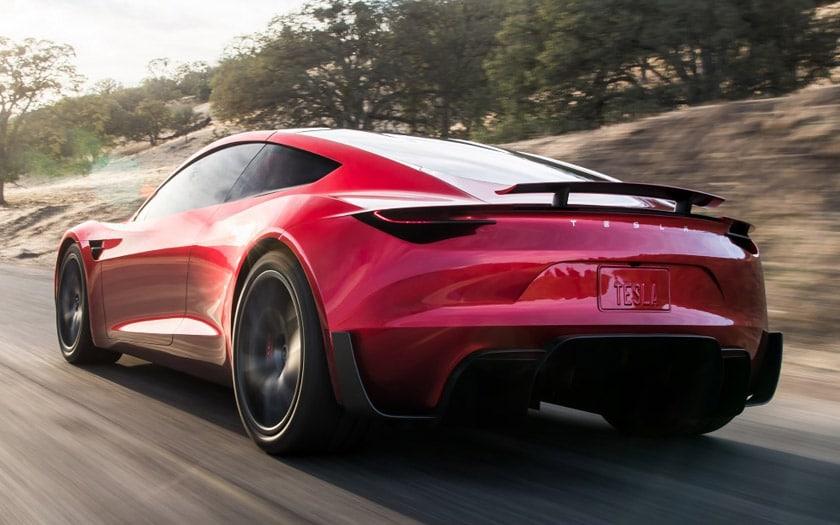 tesla roadster autonomie