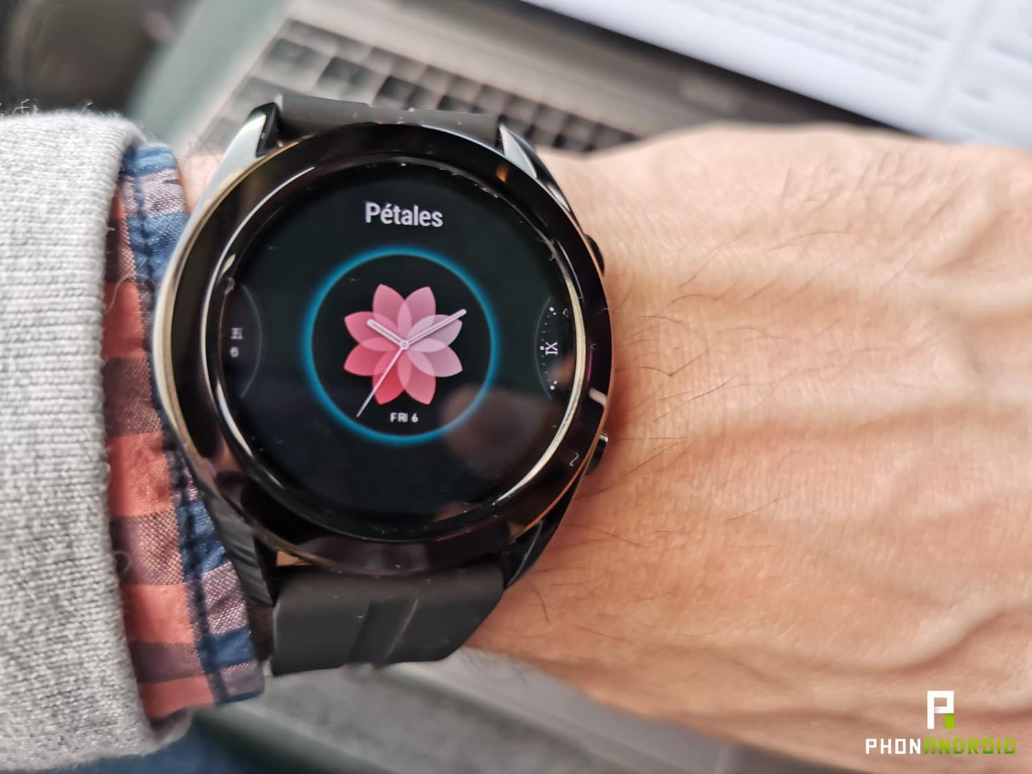 test huawei watch gt cadran