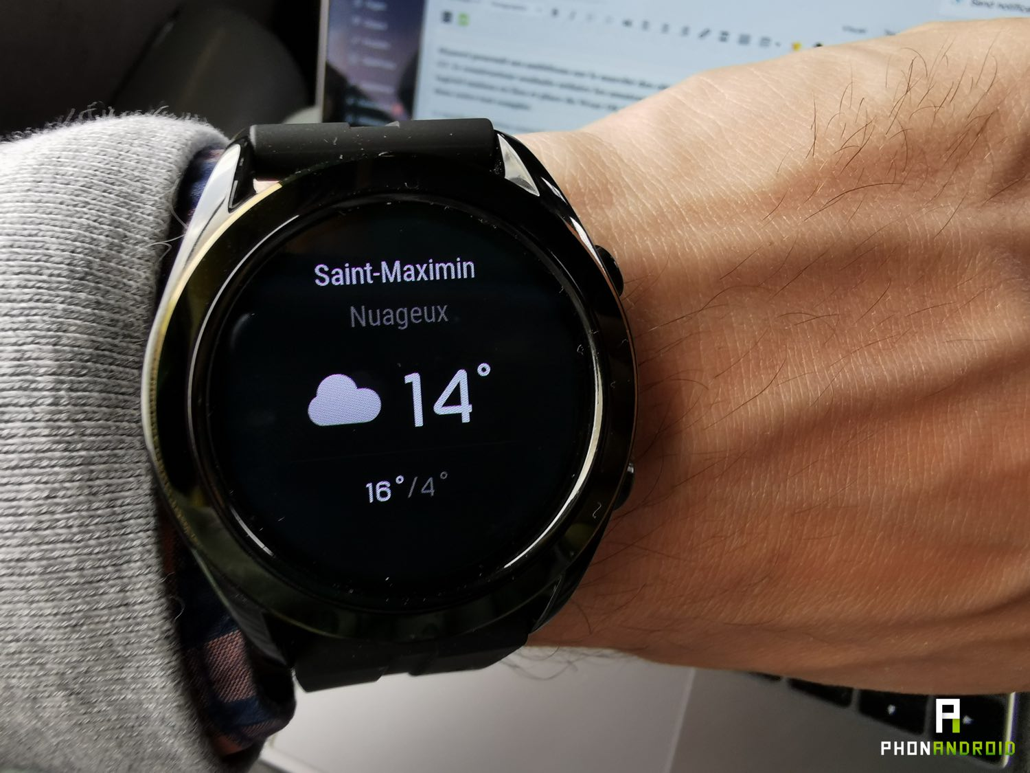 test huawei watch gt white meteo