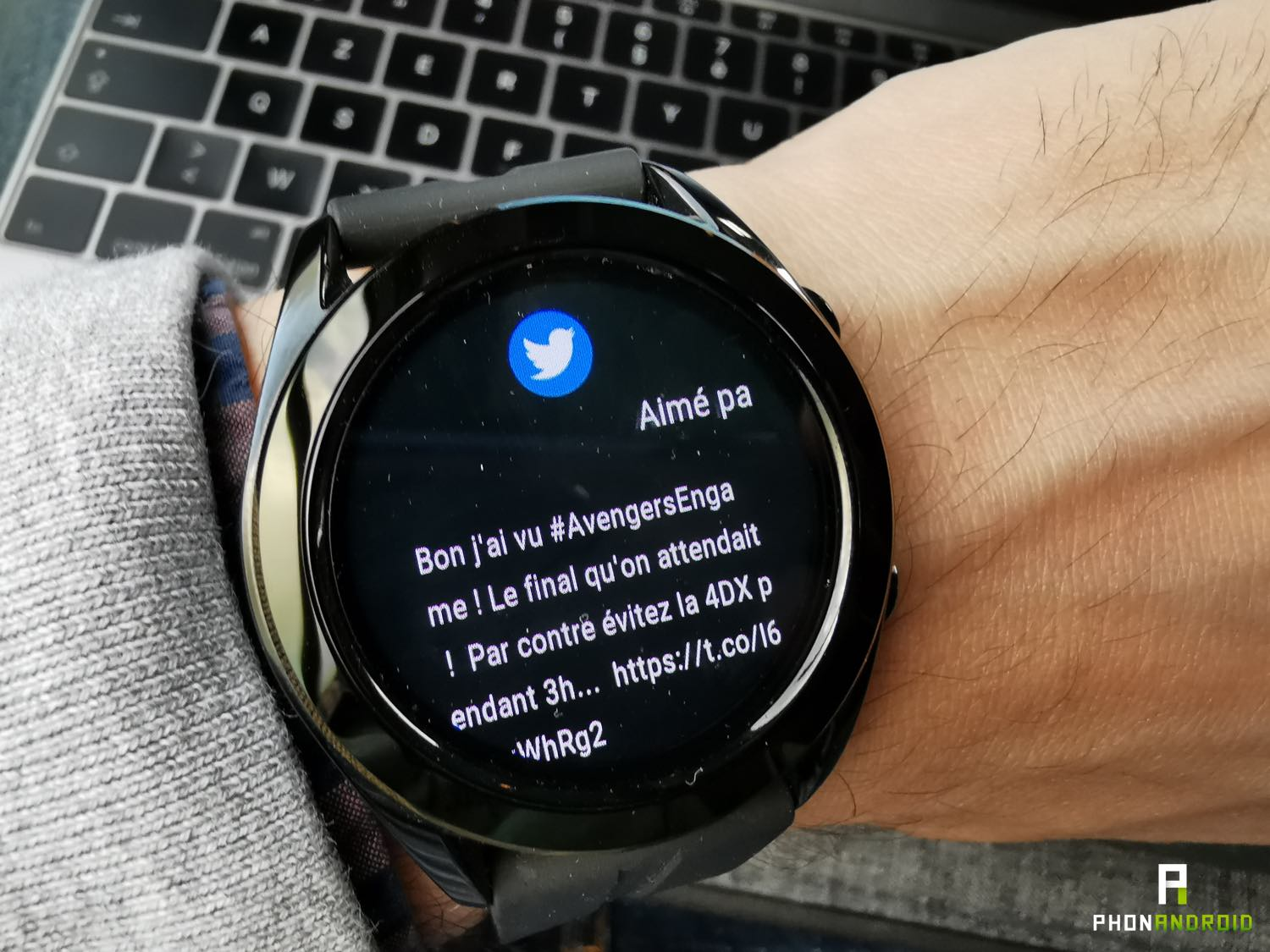 test huawei watch gt notifications