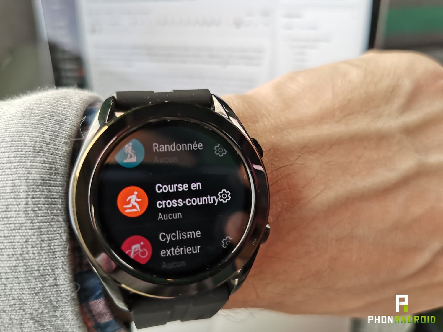 test huawei watch gt sport