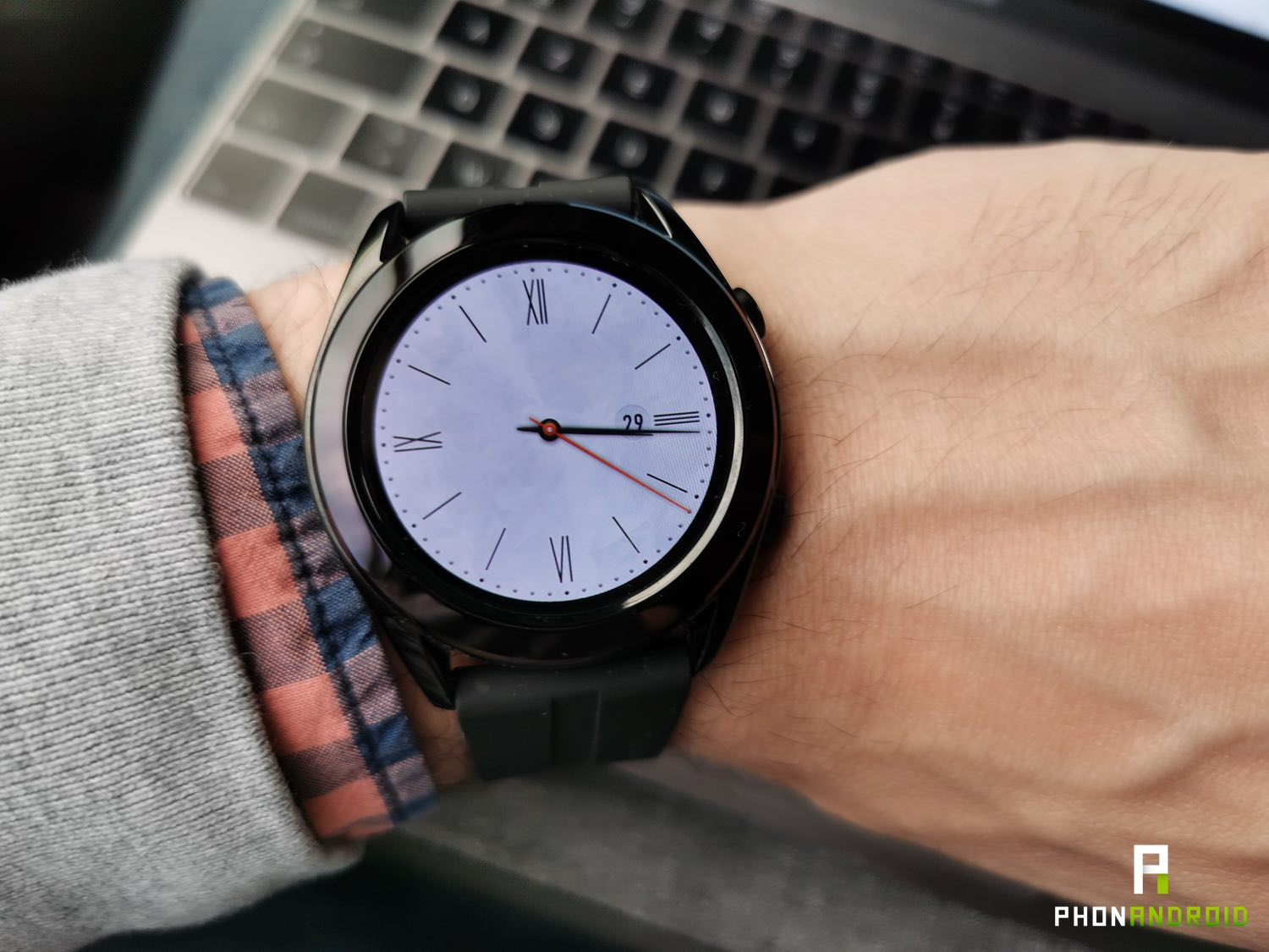 test huawei watch gt white
