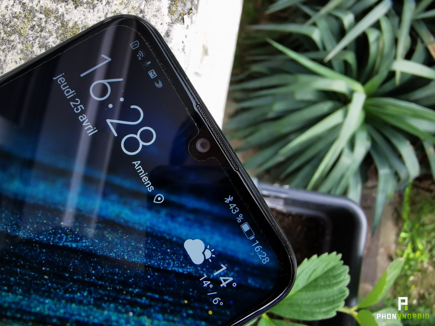 test huawei psmart plus 2019 encoche