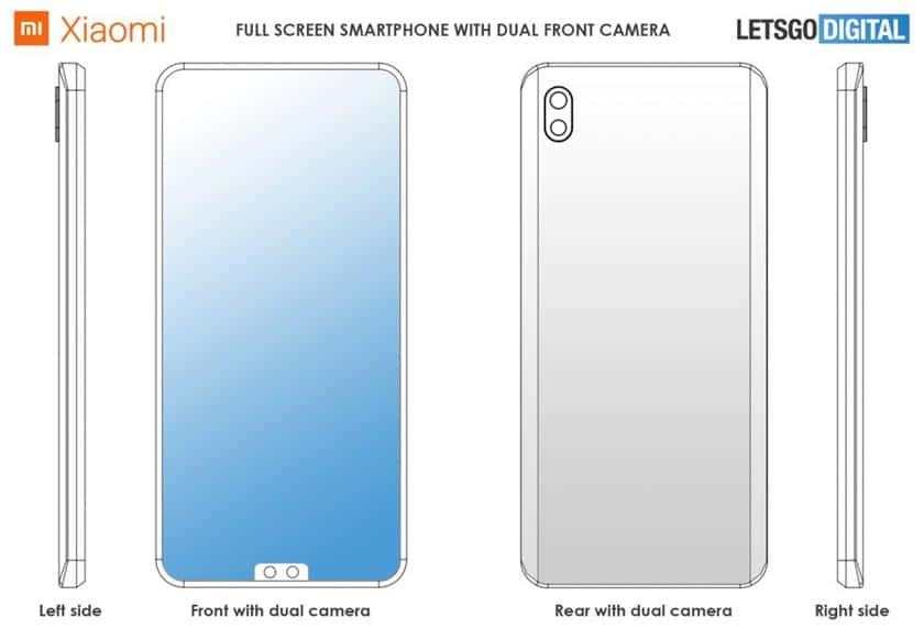 Le Xiaomi Mi Mix 4 envisage une encoche en bas de l'écran