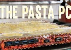youtubeur fou pc lasagnes fonctionne