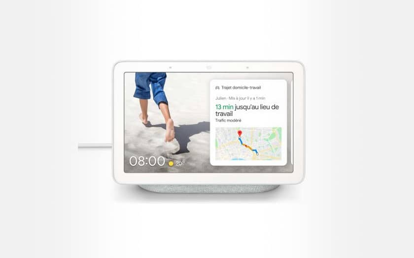 Google Nest Hub Galet smart speaker