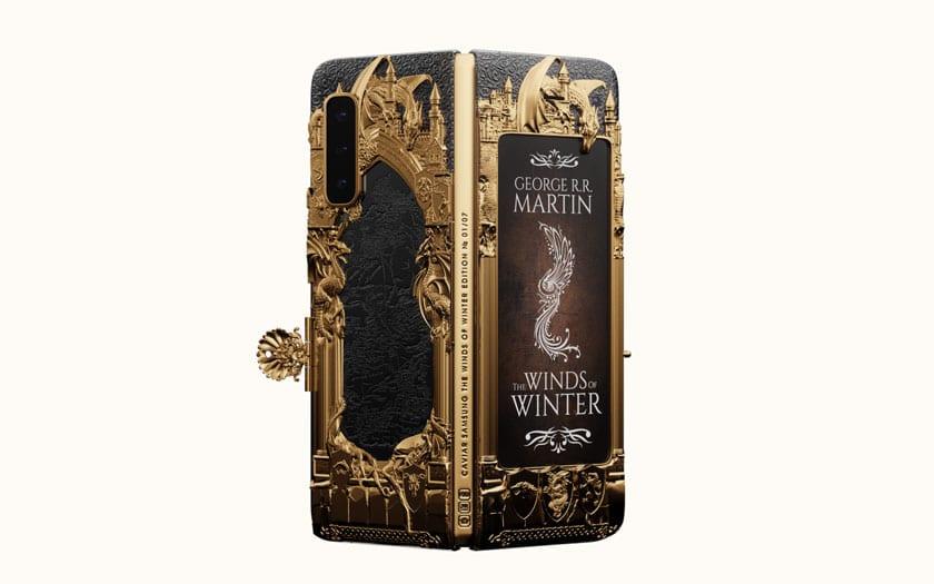 Galaxy Fold : Caviar présente une édition Game of Thrones à plus de 7000€
