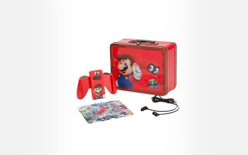 Kit Lunch Box Nintendo Mario pour Nintendo Switch