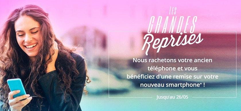 Les grandes reprises Bouygues Telecom