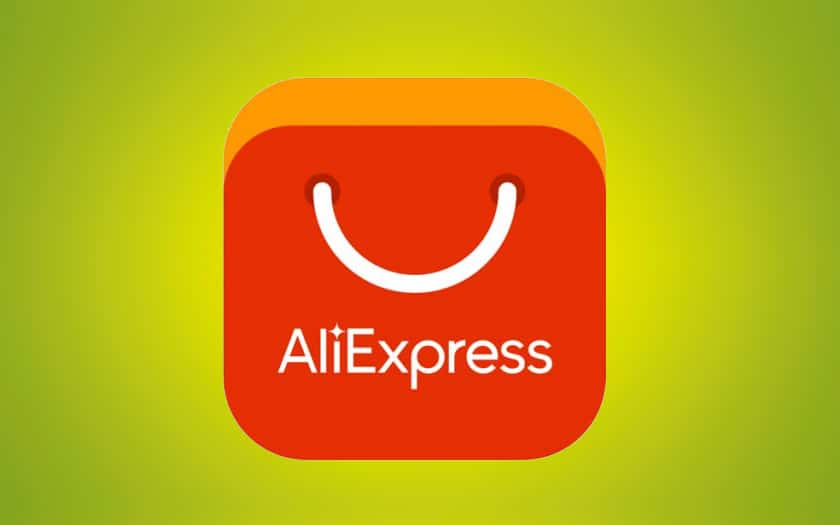 Le logo d'AliExpress