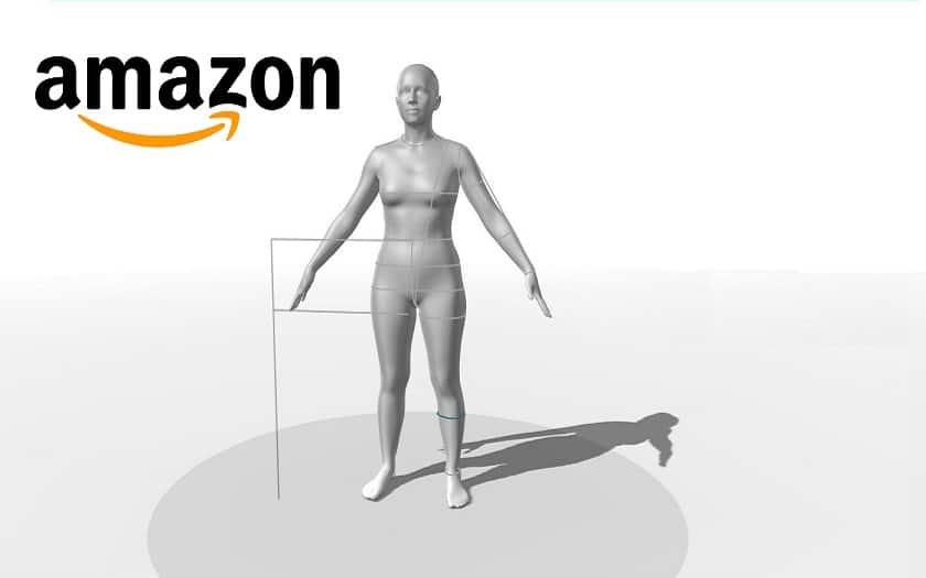 Amazon scan du corp en 3d