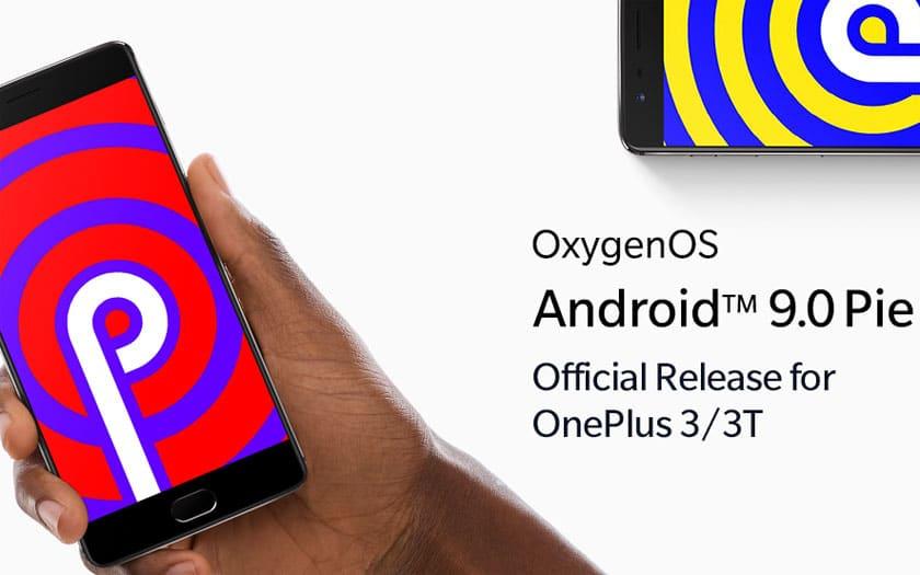 Android Pie OnePlus 3 et 3T
