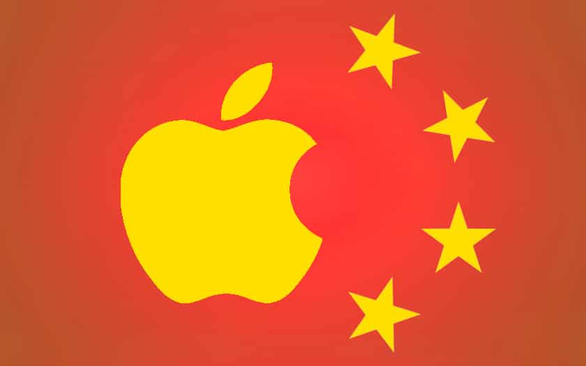 apple en chine