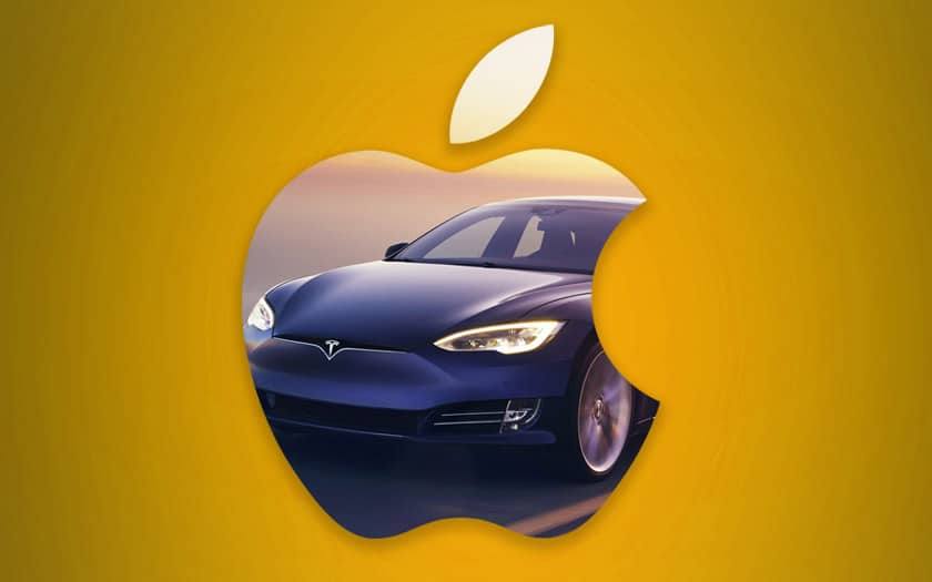apple rachat tesla
