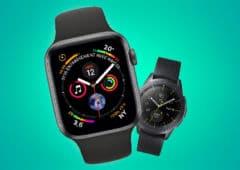apple watch galaxy watch