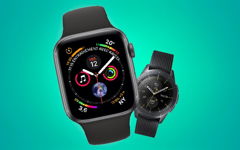 Apple Watch galaxy watch