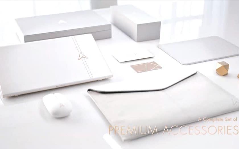 Asus Zenbook Edition 30 en cuir