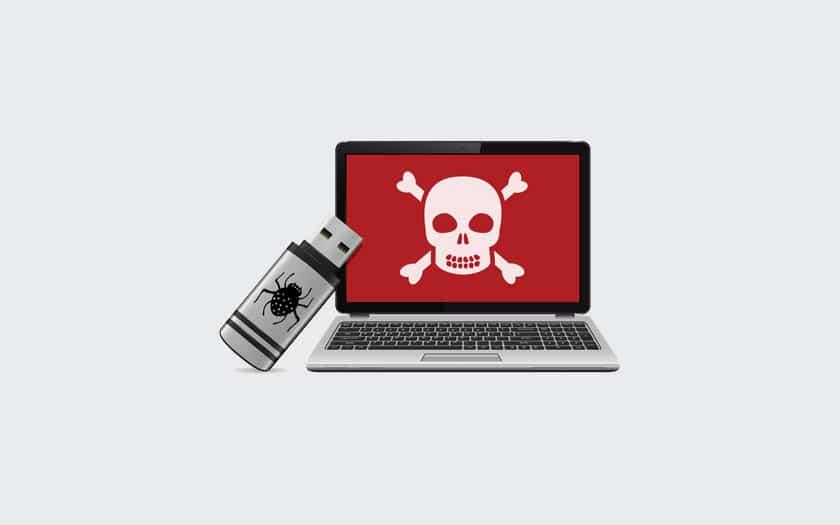 Arnaque clé USB