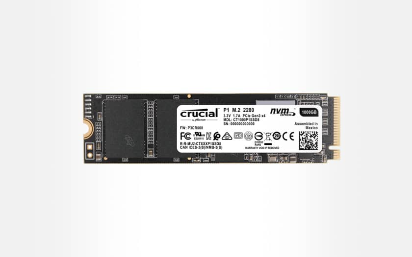 crucial P1 ssd externe