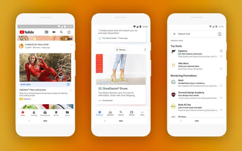 Google Ads publicités smartphone
