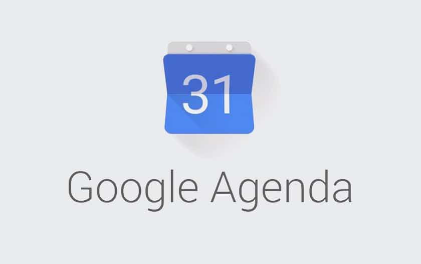 Google agenda sombre