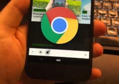 google chrome android onglets groupés apk