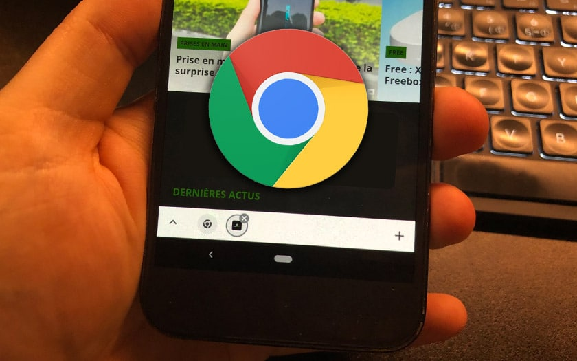 google chrome android onglets groupés apk
