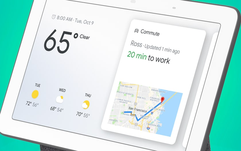 Google Nest Hub officiel en France