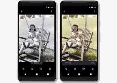 google photos colorize