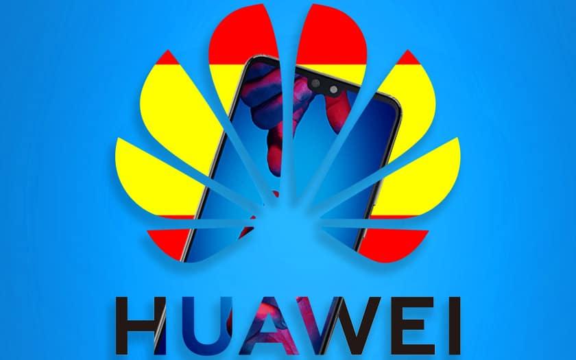 huawei ventes smartphones effondrées espagne