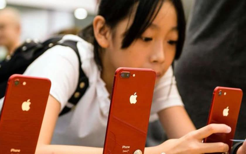 iPhone ventes Huawei