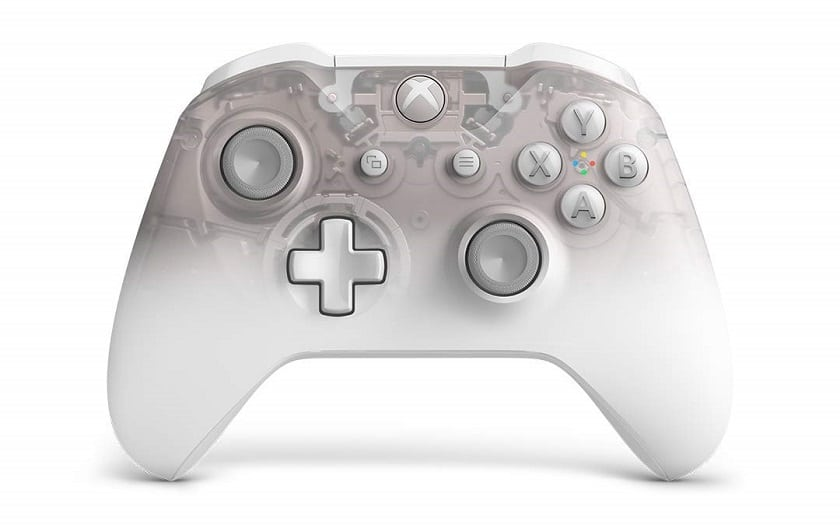 manette xbox one edition phantom white