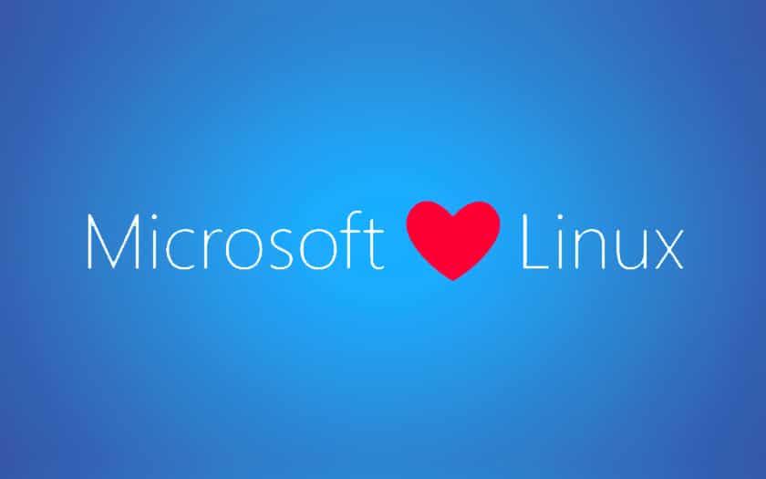 microsoft aime Linux