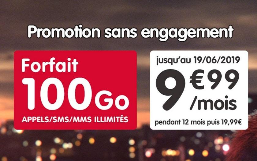 nrj mobile forfait 100 go promotion