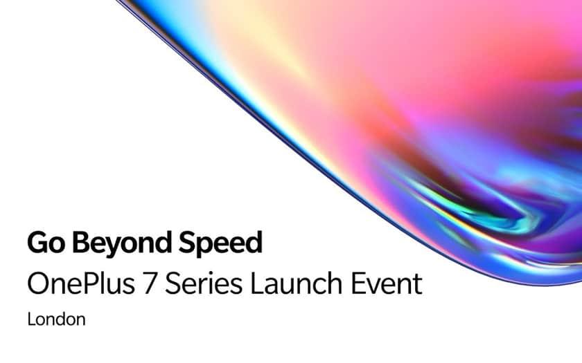 Conférence présentation OnePlus 7