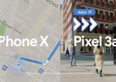 pixel 3a vs iphone xs maps plans