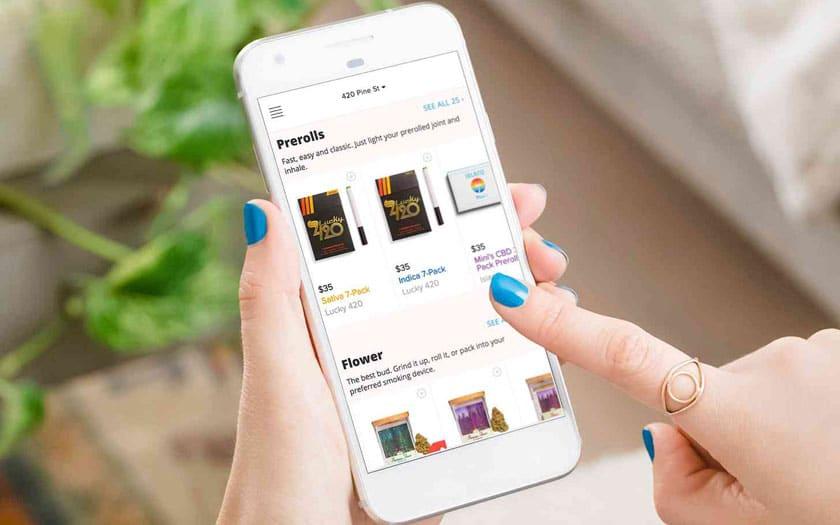 Google Play Store bannit le Cannabis