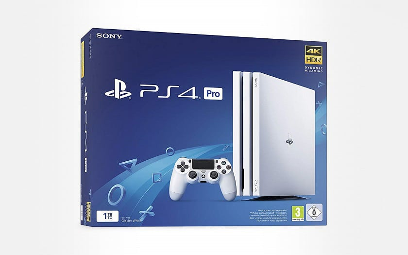 PS4 PRO BLANCHE AMAZON
