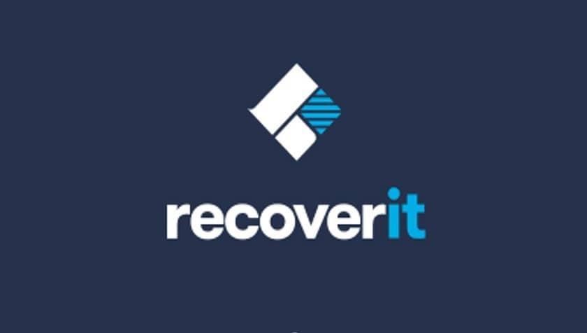 recoverit logiciel