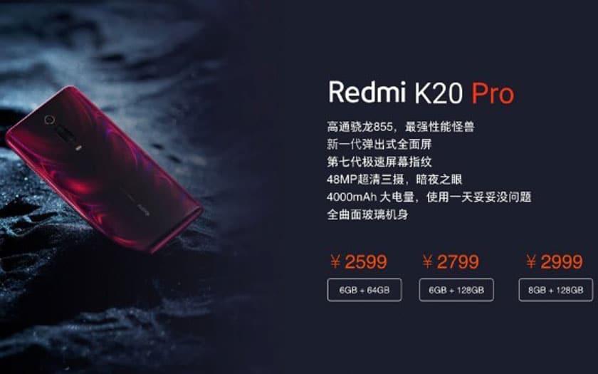Redmi K20 Pro : un haut de gamme à moins de 350 € ?