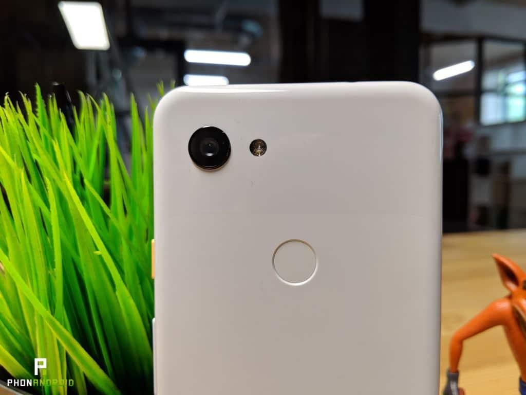 test google pixel 3a appareil photo